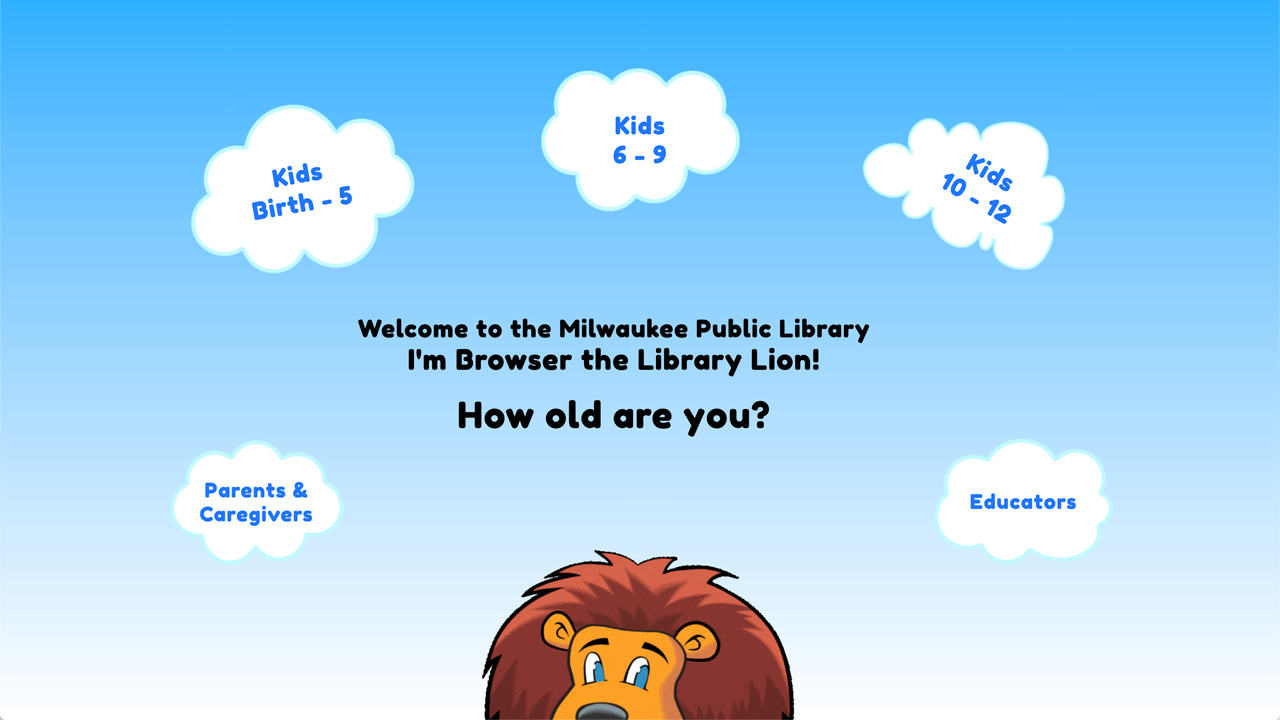image of clouds on home asking age group